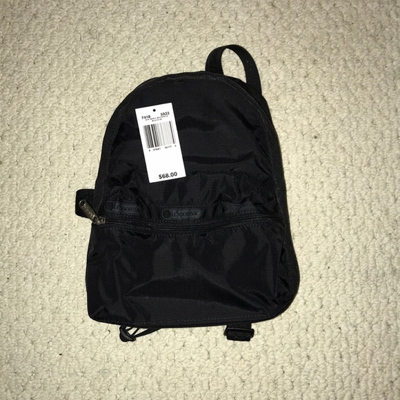 Lesportsac Bags Basic Black Mini Backpack Poshmark